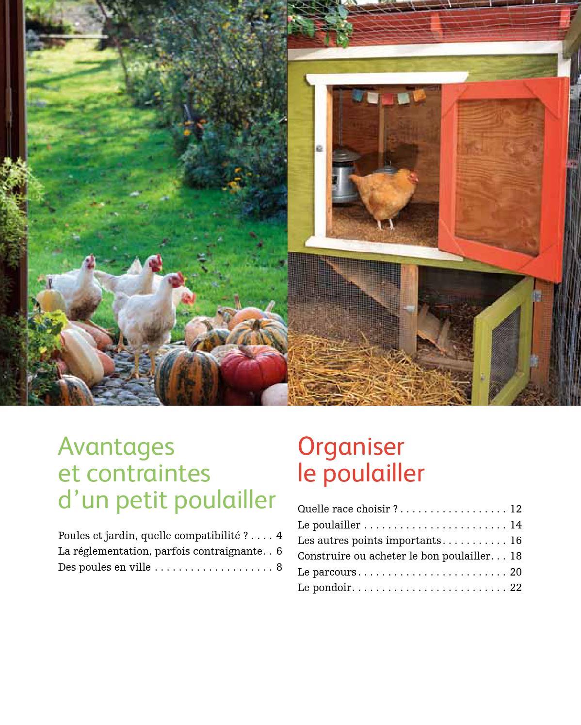 Extrait quelques poules dans mon jardin ditions ulmer for Organiser un petit jardin