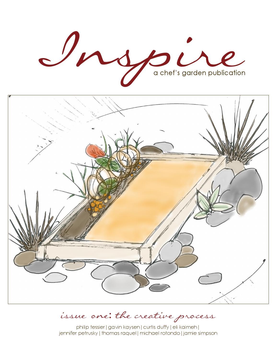 Chef Garden: The Chef's Garden INSPIRE Volume One By The Chef's Garden