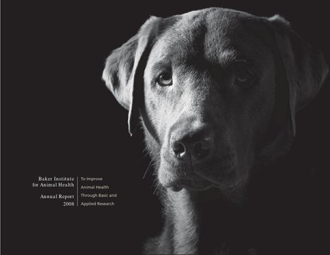 c213165f448174 Baker Institute for Animal Health Annual Report 2008 by Baker ...