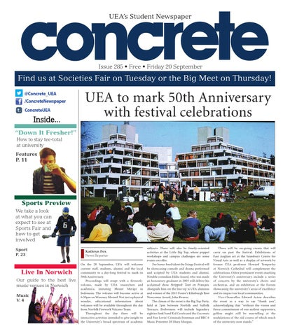 Concrete UEA issue 285 by Concrete - UEA's official student newspaper -  issuu