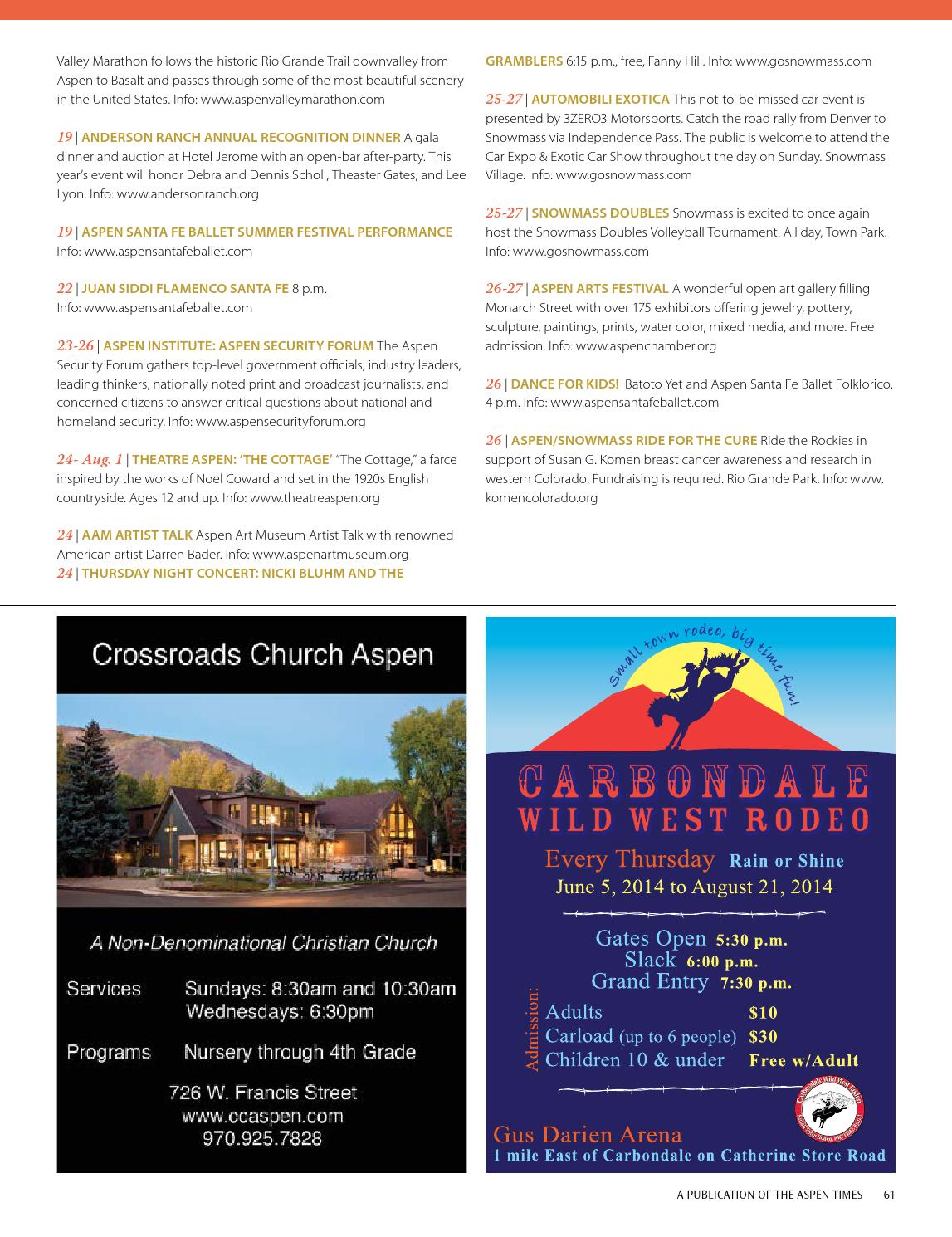 Summer In Aspen by Colorado Mountain News Media - issuu