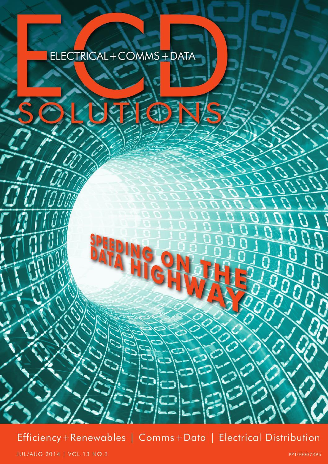 Ecd Solutions Jul Aug 2014 By Westwick Farrow Media Issuu Cat 5 Wiring Diagram Cat5 On Nti