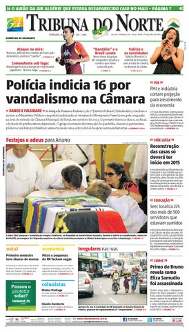 3e0f861f5 Tribuna do Norte - 25/07/2014 by Empresa Jornalística Tribuna do ...