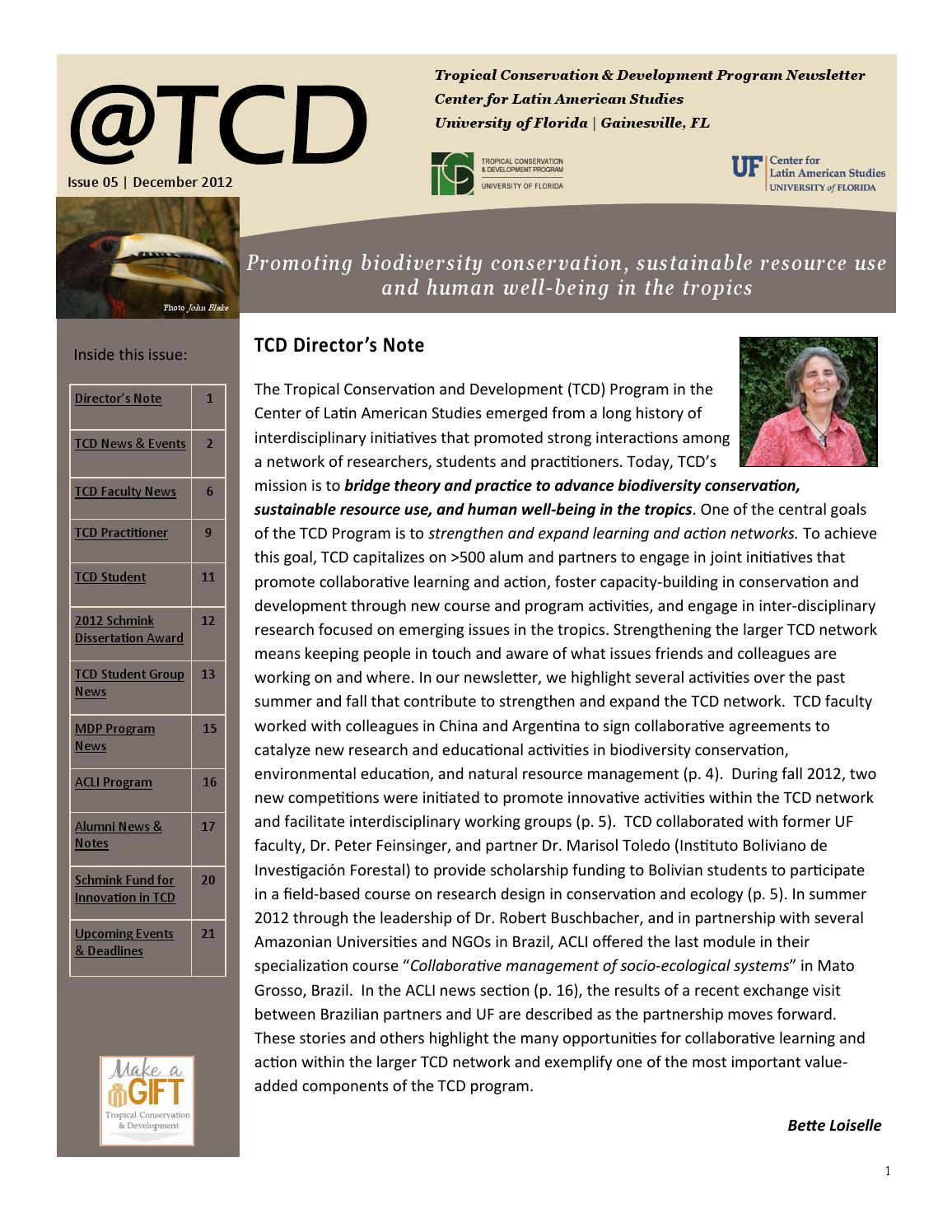 tcd university of florida by ecología y conservación ECUADOR - issuu