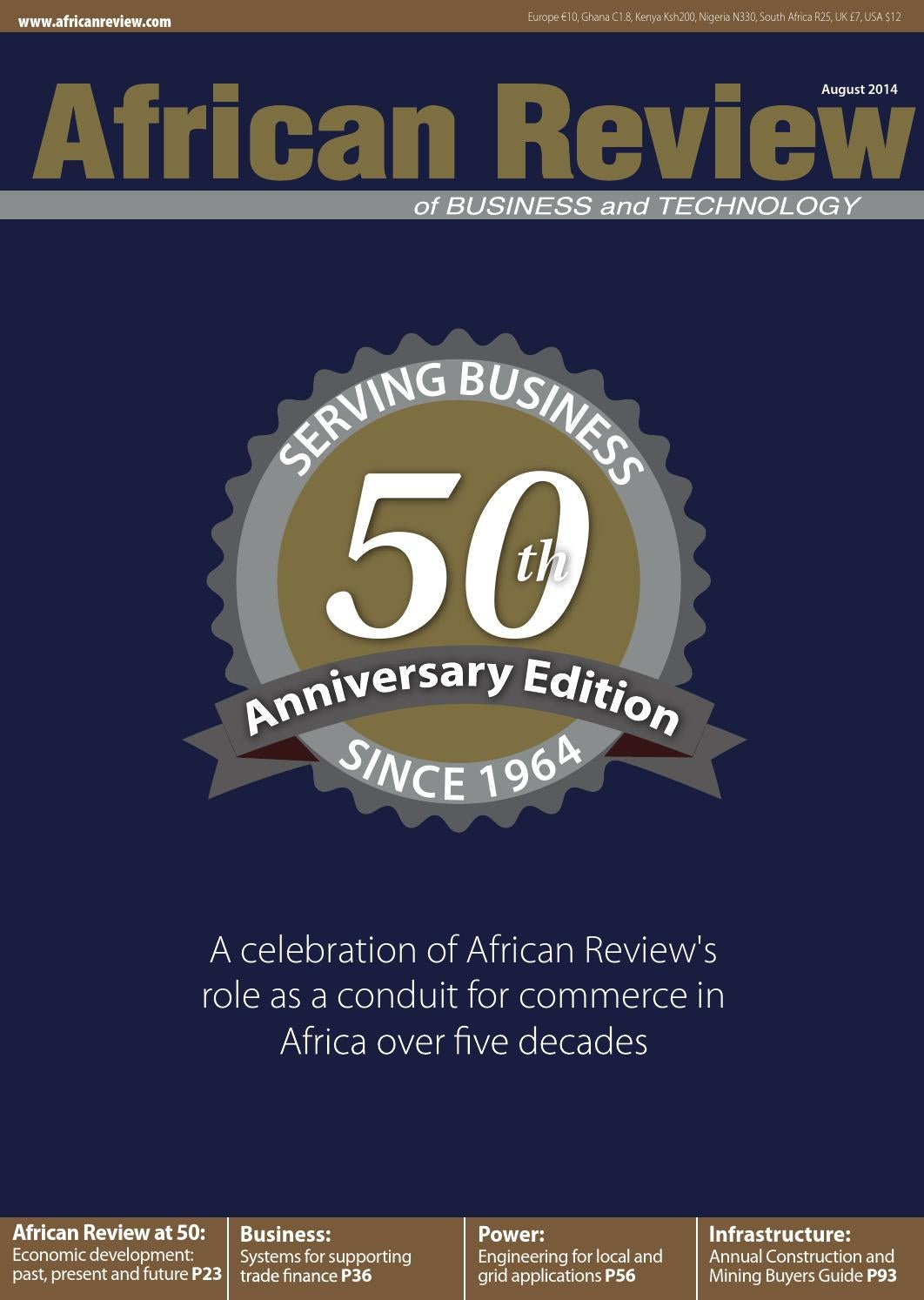 African Review August 2014 By Alain Charles Publishing Issuu Description Monolithic Microwave Integrated Circuit Msa0686 Fixedpng