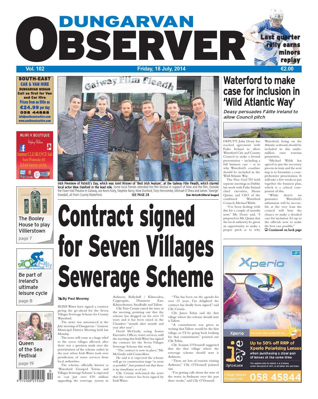 Dungarvan observer 18 7 2014 by Dungarvan Observer - issuu