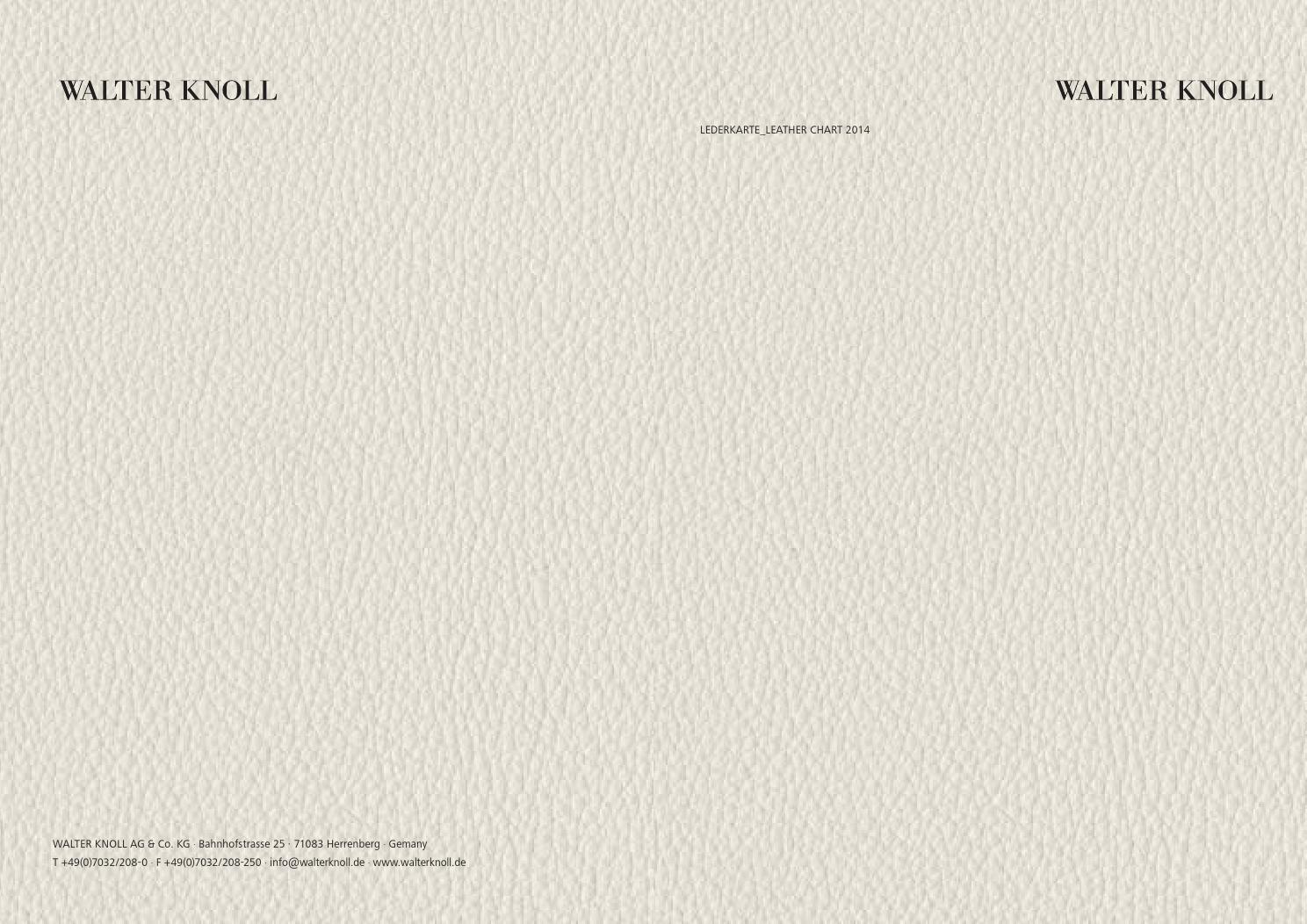 lederkarte leather chart 2014 by wipper buerodesign gmbh issuu. Black Bedroom Furniture Sets. Home Design Ideas