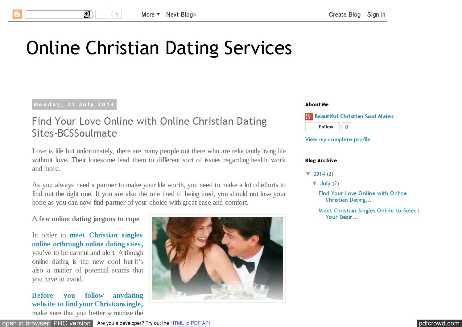 Reviews of christian online dating services
