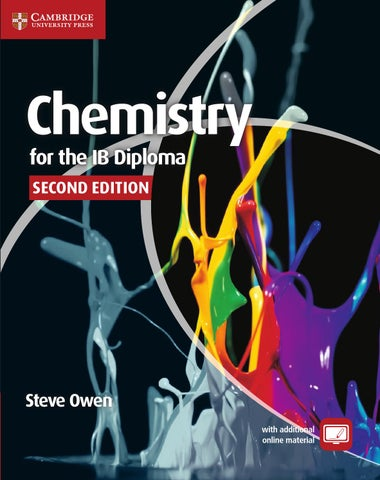 Chemistry For The Ib Diploma Second Edition By Cambridge
