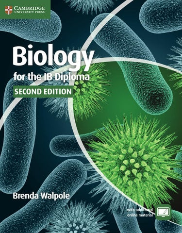 Biology for the ib diploma second edition by cambridge university for the ib diploma coursebook with free additional online material second edition the second edition of this well received coursebook is fully updated for fandeluxe Images