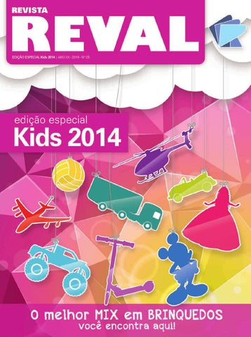 Revista Reval Kids 2014 - Parte 01 by Reval Atacado de Papelaria ... 14b31f1dead
