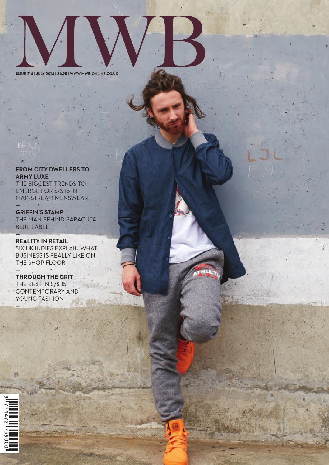 4fecb14bd884 MWB MAGAZINE JULY ISSUE 214 by fashion buyers Ltd - issuu