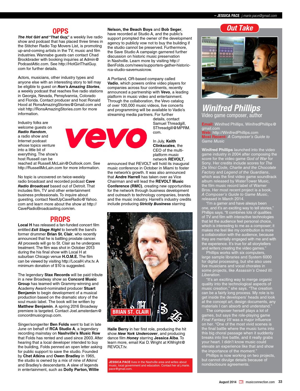 MC's August 2014 Issue by Music Connection - issuu