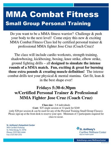 MMA Combat Fitness by Carol Onwell - issuu