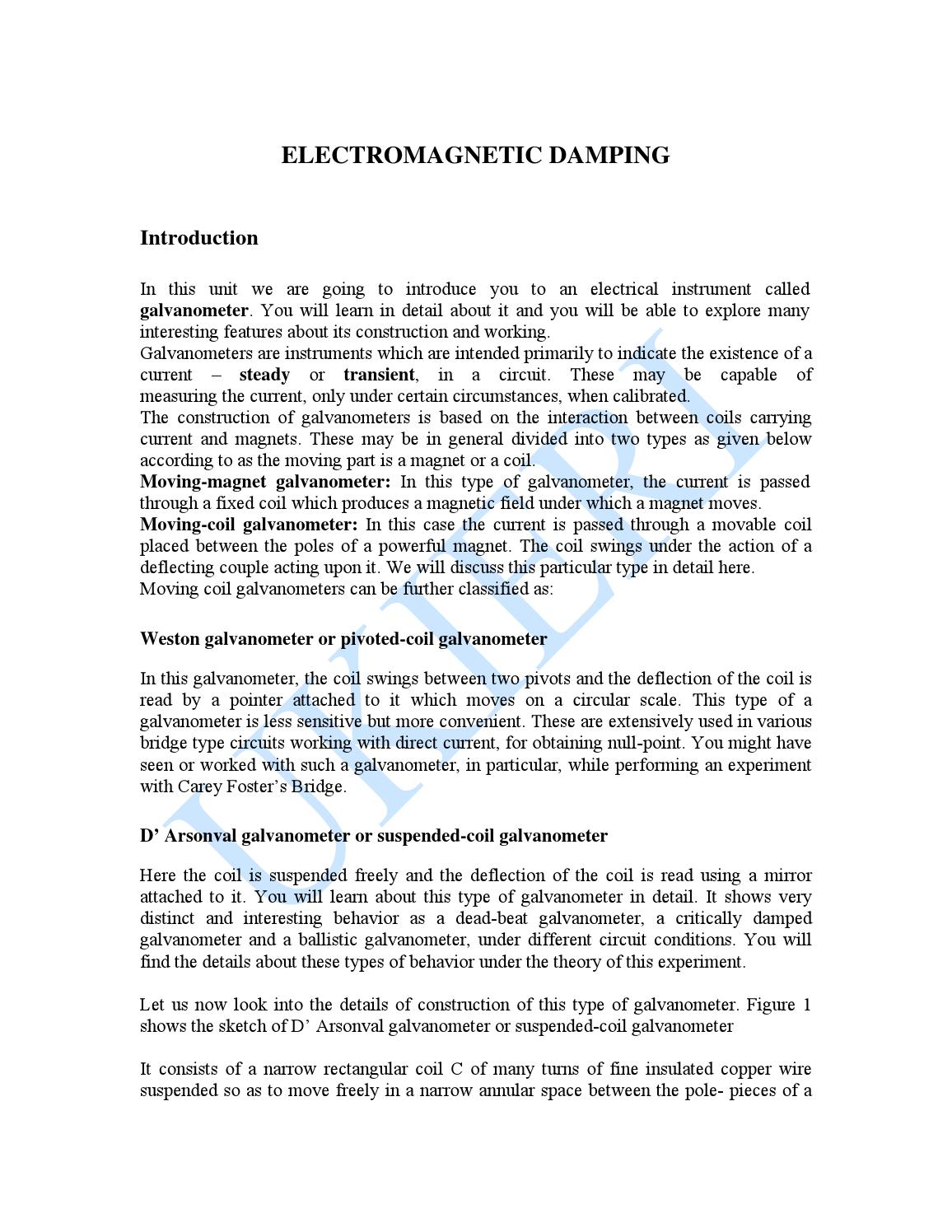 Electromagnetic damping by Chem Engine - issuu