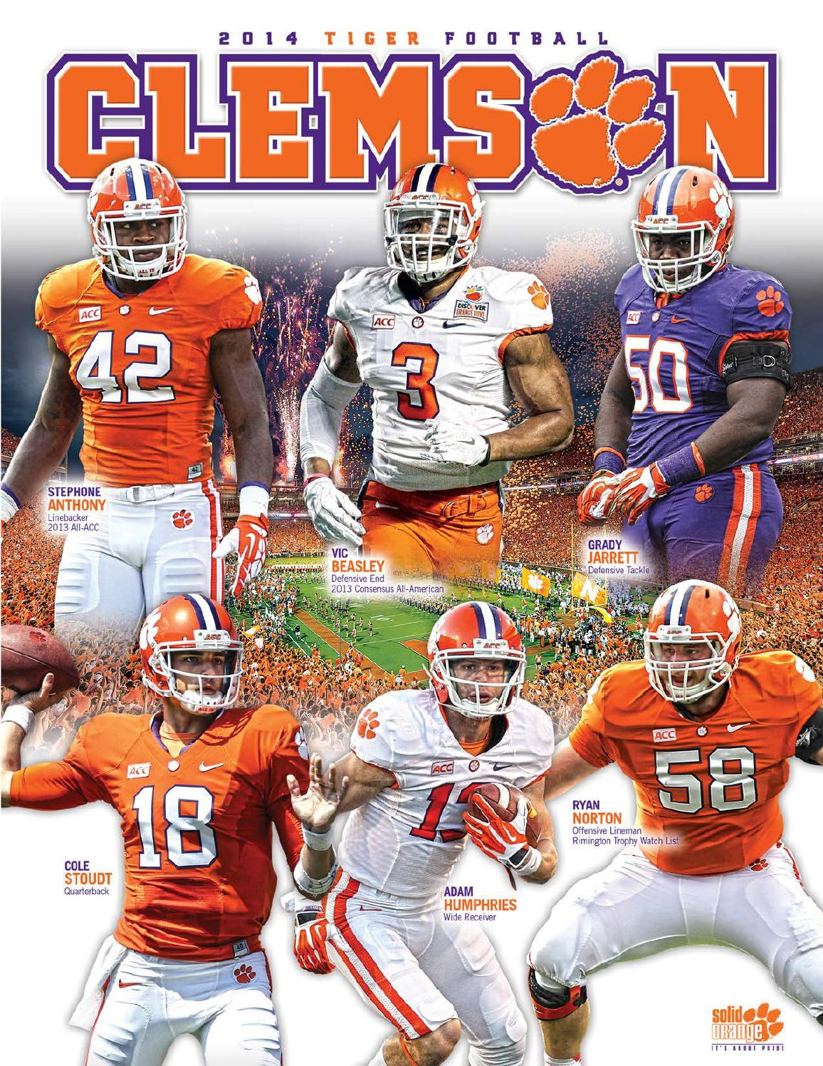 2b9931154 2014 Clemson Football Media Guide by Clemson Tigers - issuu