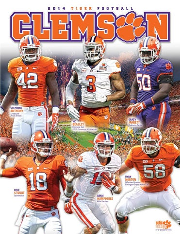 2014 Clemson Football Media Guide by Clemson Tigers - issuu 66c8066a5