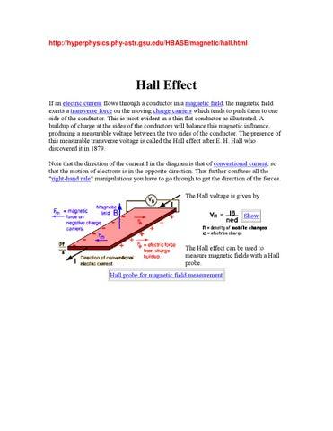 Handout Hall Effect By Chem Engine Issuu