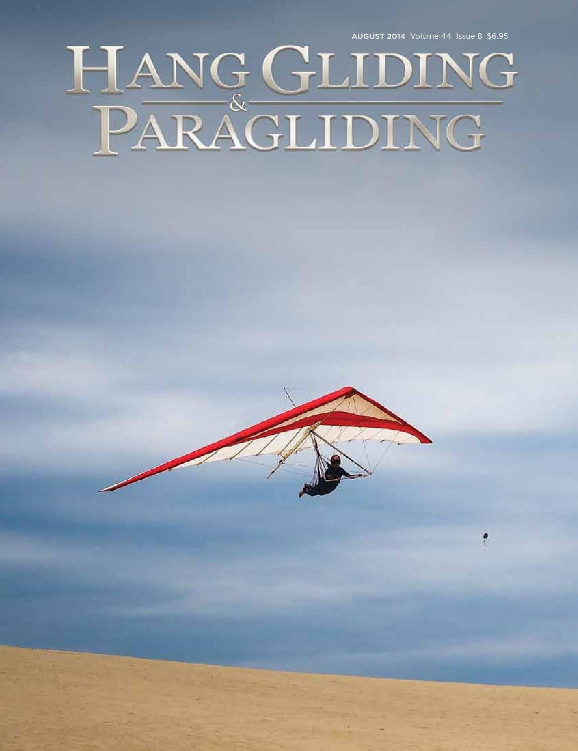 Hang Gliding & Paragliding Vol44/Iss08 Aug2014 by US Hang