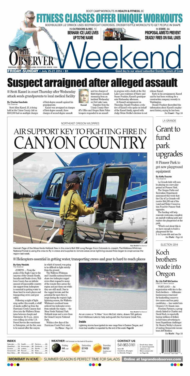 La Grande Observer Daily paper 09-19-14 by NorthEast Oregon News - issuu