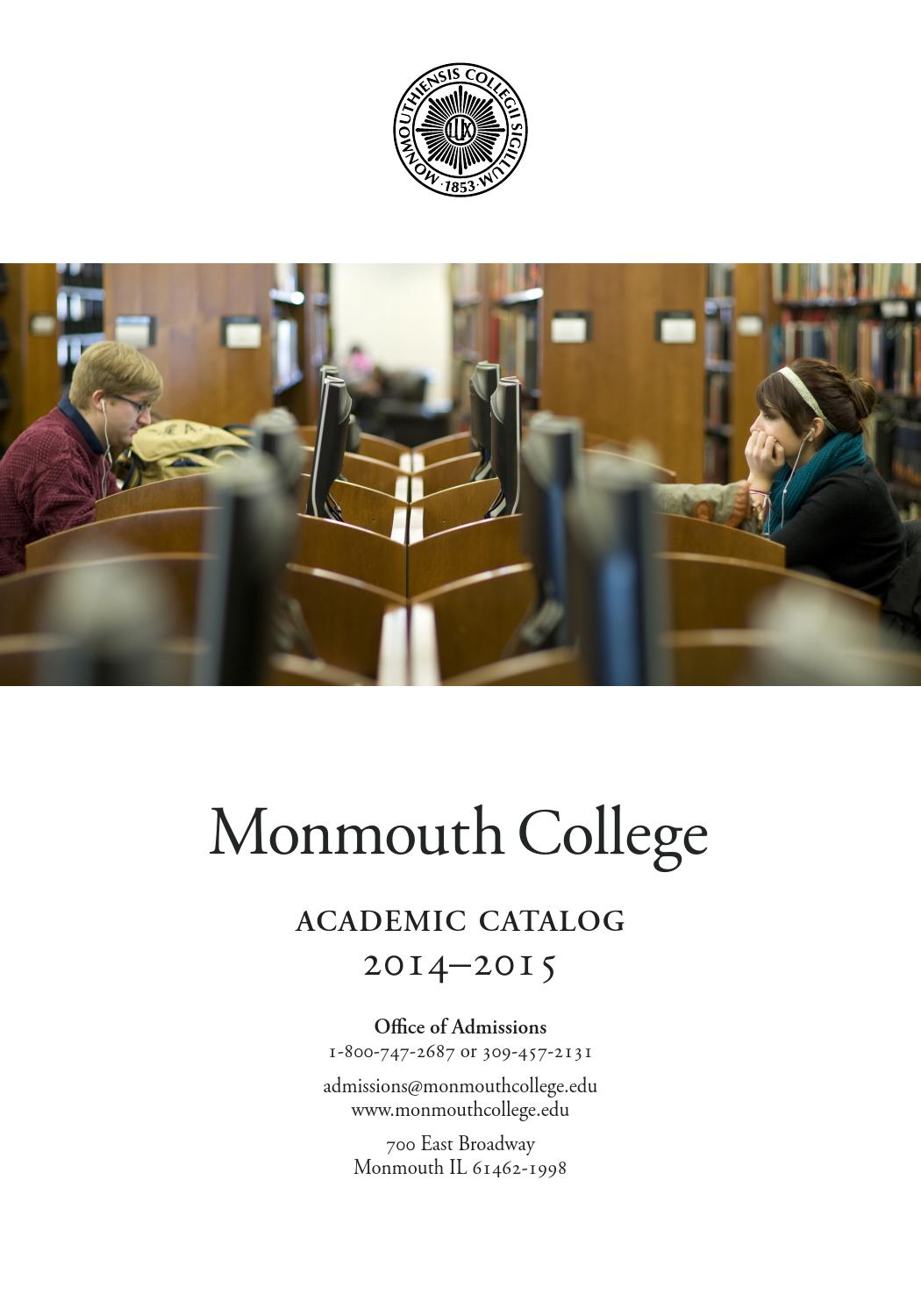 Monmouth College Catalog 2014 2015 By Issuu Dc Thevenin Equivalent Example 1 Youtube