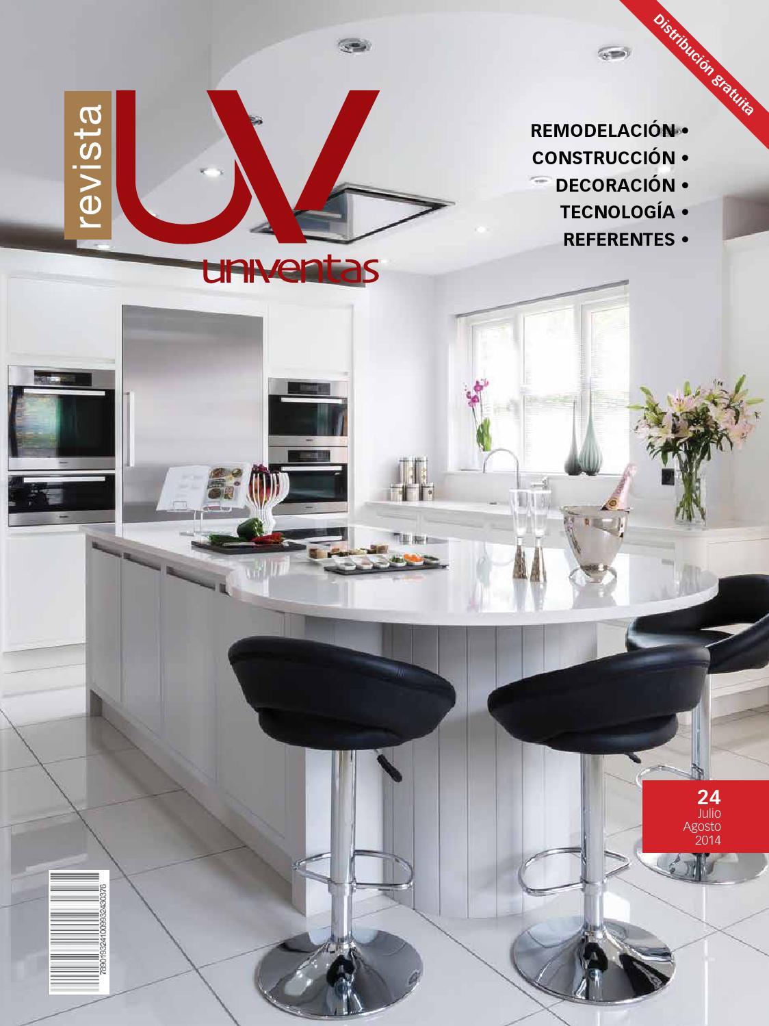 Revista UV número 24 by IDEO Centro de Diseño y Construcción - issuu