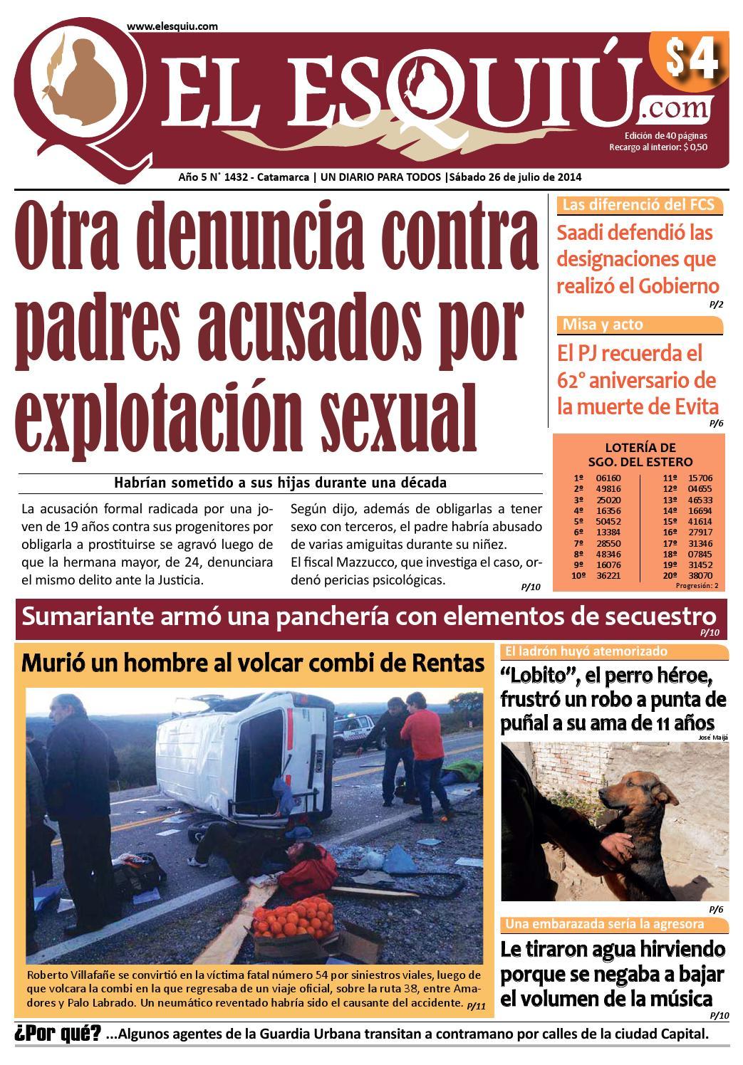 El Esquiu Com S Bado 17 De Mayo De 2014 By Editorial El Esqui  # Muebles Bordas Colombres