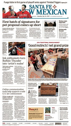 get cheap 9a4d9 2810b Santa Fe New Mexican, July 26, 2014 by The New Mexican - issuu