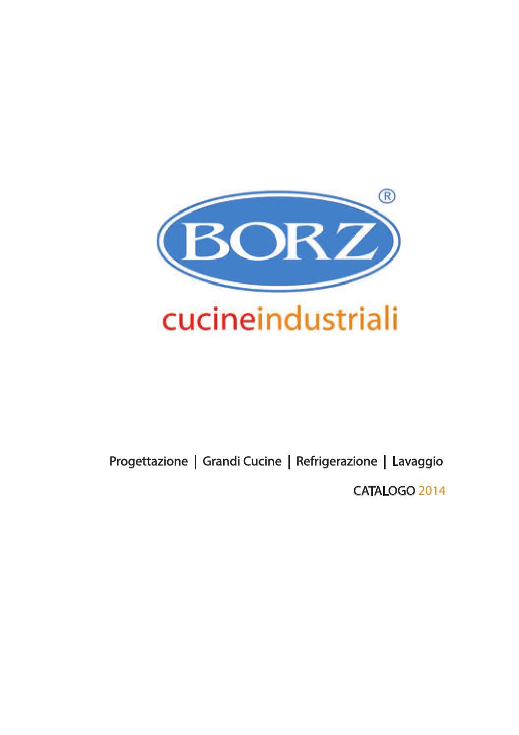 Catalogo borz by borz cucine industriali issuu - Progettazione cucine on line ...