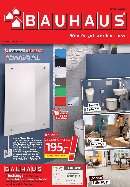 Bauhaus Angebote 26juli 23august2014 By Promoprospektede