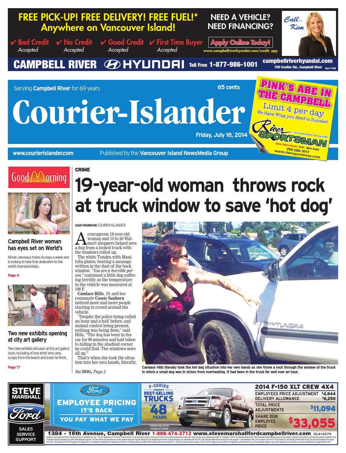 Campbell River Courier Islander