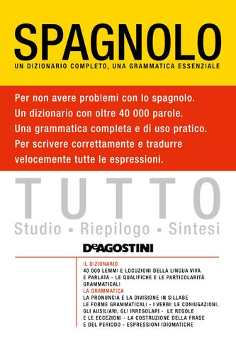 Tutto Spagnolo By Materiali Issuu