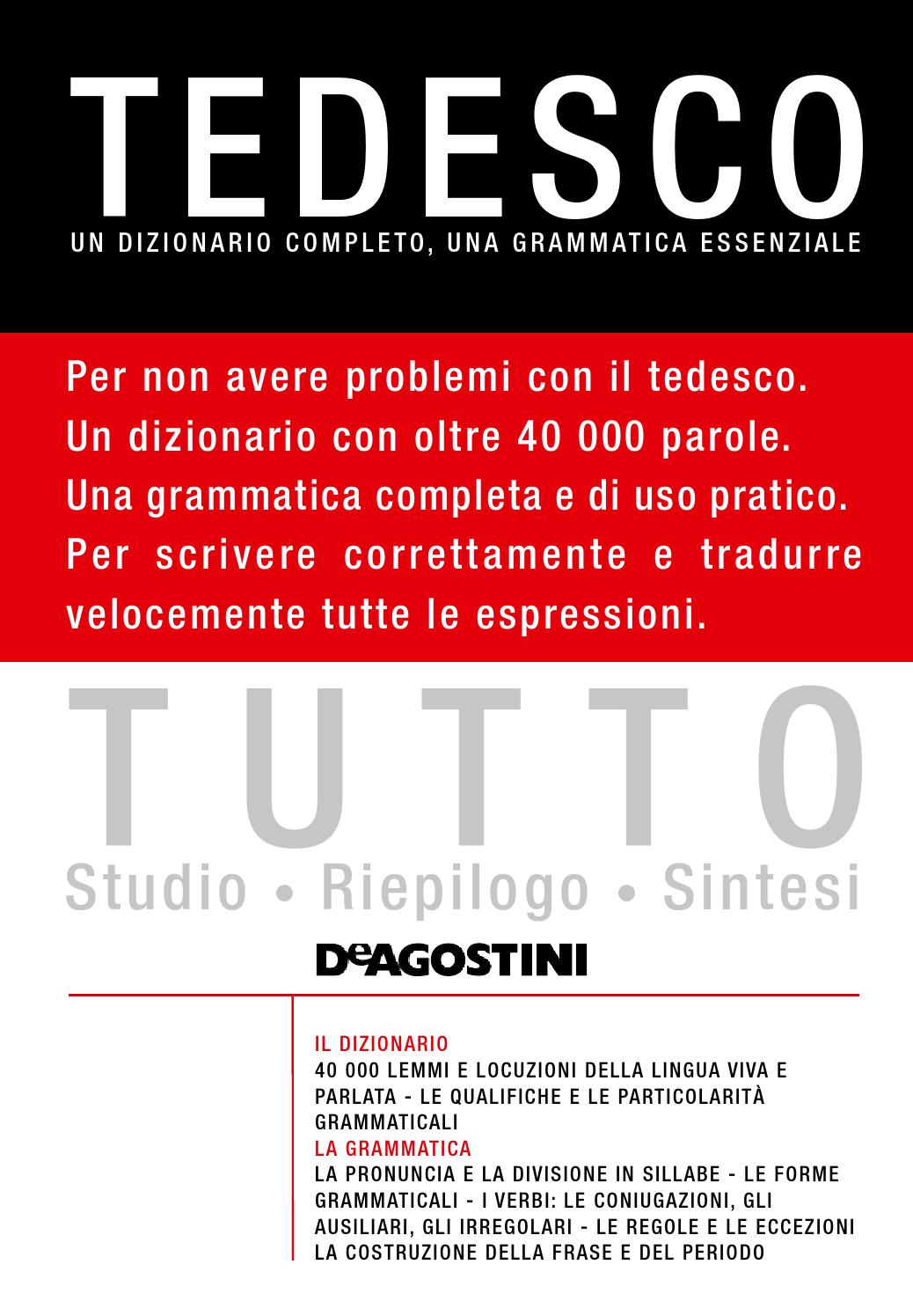Tutto Tedesco By Materiali Issuu