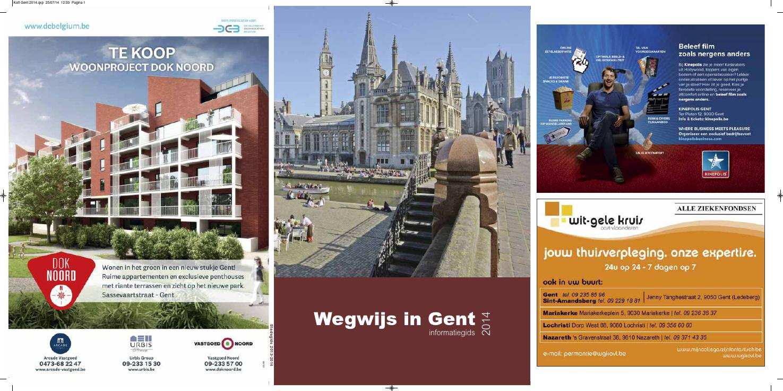 2126c7df459 Wegwijs in gent - informatiegids 2014 by Jan Duchau - issuu