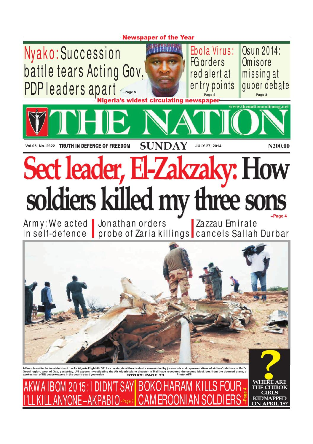 The Nation July 27 2014 By The Nation Issuu