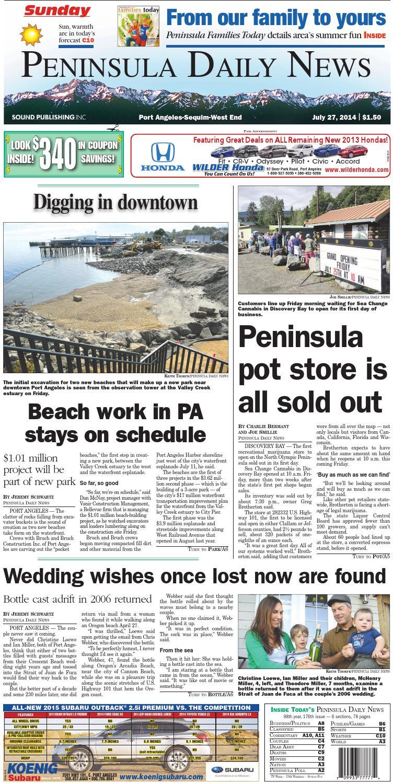 Pdnn140727c By Peninsula Daily News Sequim Gazette Issuu Austin Wedges Tiauna Beige 38