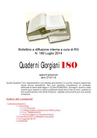 Quaderni giorgiani 180 letteratura by Giorgio Redigonda - issuu bc57f1ceccc7