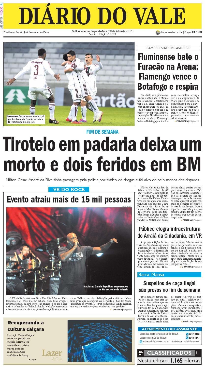 cd340ced09 7378 diario segunda feira 28 07 2014 by Diário do Vale - issuu