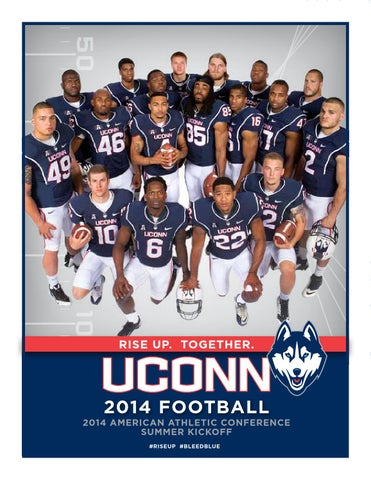 56d4848f75e UConn Football 2014 American Athletic Conference Summer Kickoff Guide