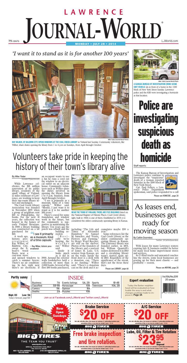 Lawrence Journal-World 07-28-14 by Lawrence Journal-World - issuu