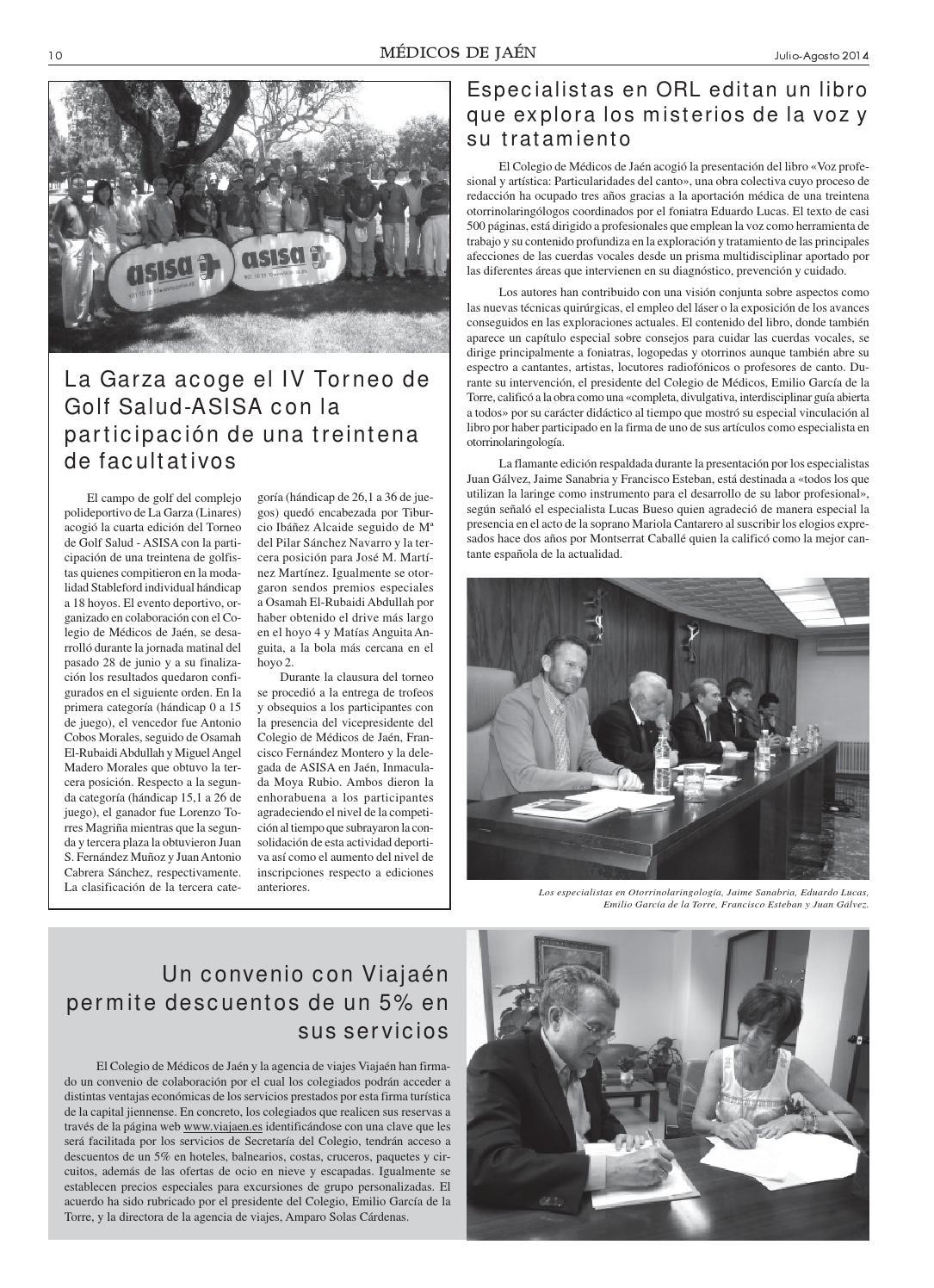 Mdicos 103 by Colegio Medicos de Jan Issuu