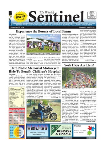 WS July 25 2014 By Weekly Sentinel