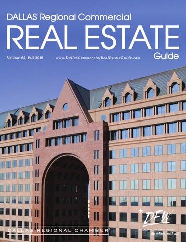 18a796163b55 Dallas Regional Commercial Real Estate Guide Fall 2010 by Dallas ...
