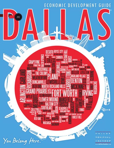 Dallas Economic Development Guide 2012 by Dallas Regional Chamber