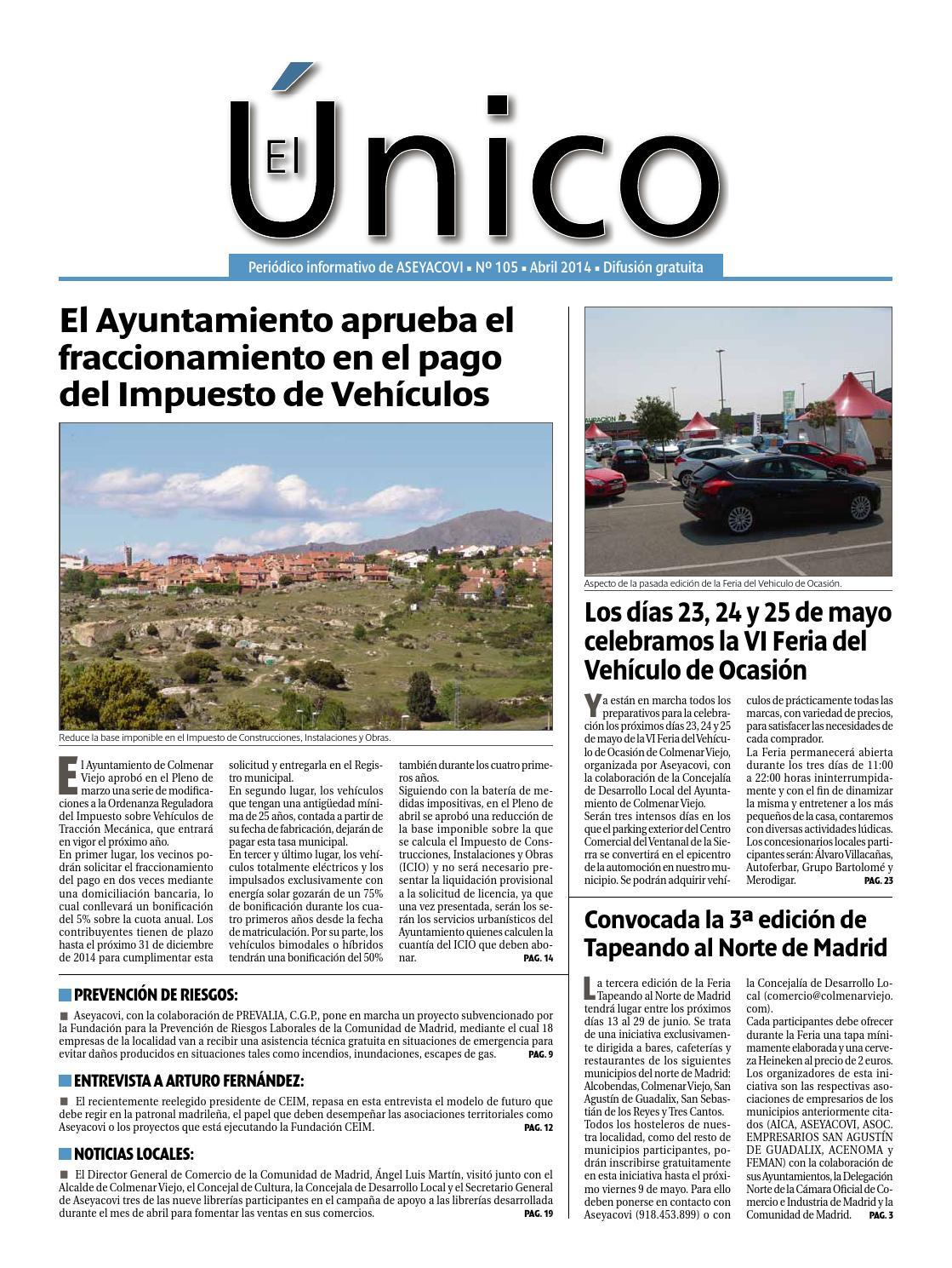 El Único 105. Abril 2014 by Aseyacovi - issuu