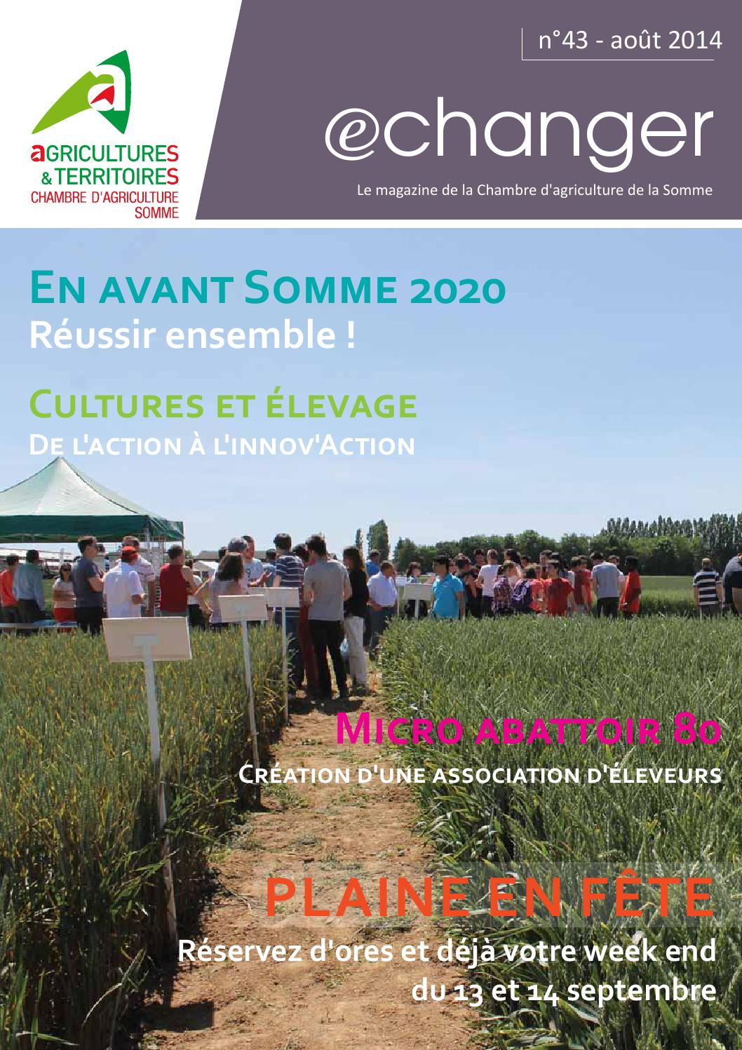 Echanger43basse r so by sylvie cavel issuu - Chambre departementale de l agriculture ...