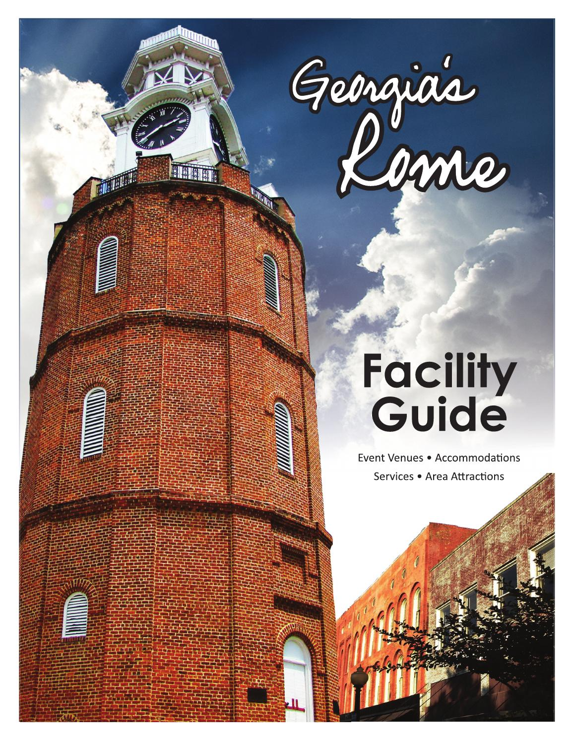 Georgia S Rome Facility Guide By Greater Rome Convention