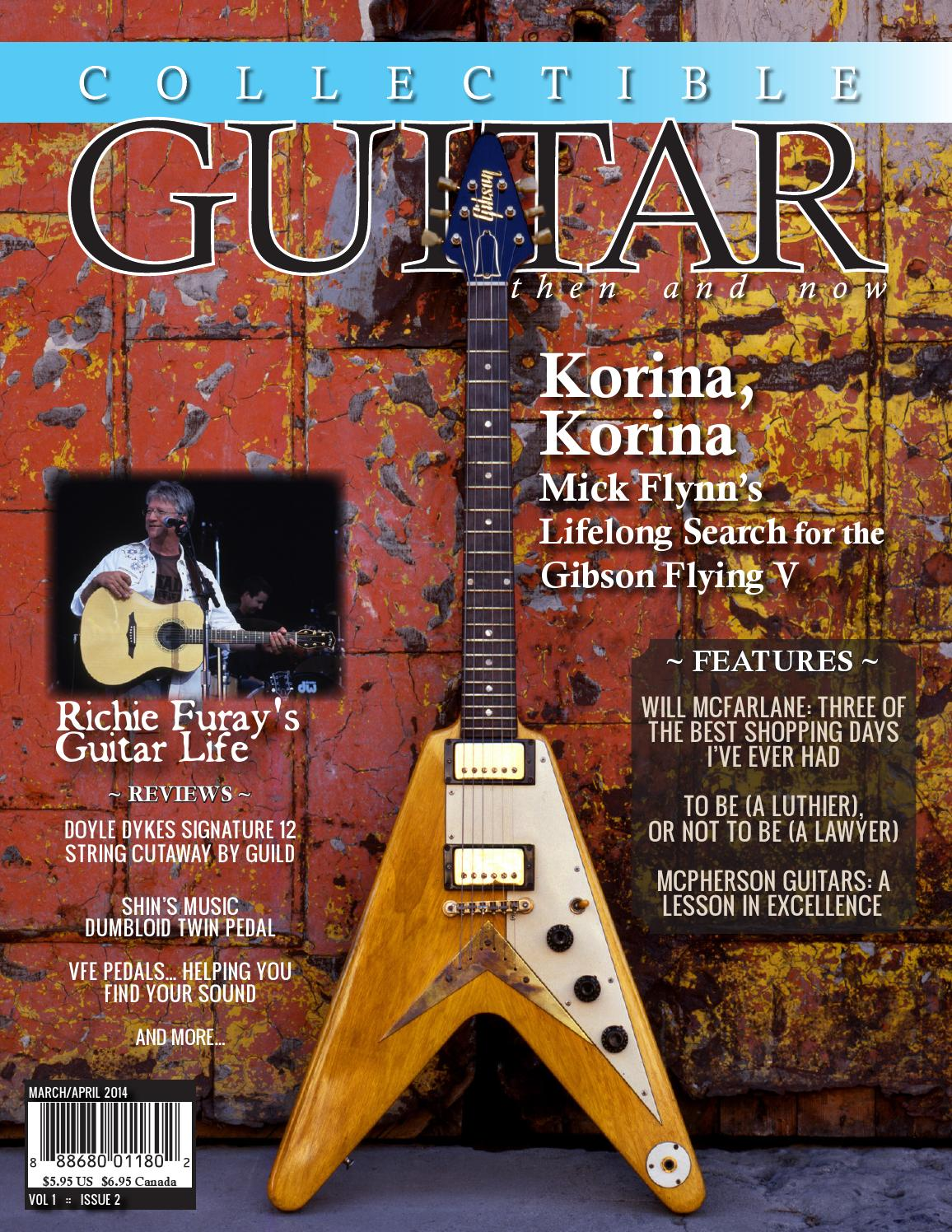 Collectible Guitar Then And Now Mar Apr 2014 By Guild Wiring Diagram Magazine Issuu