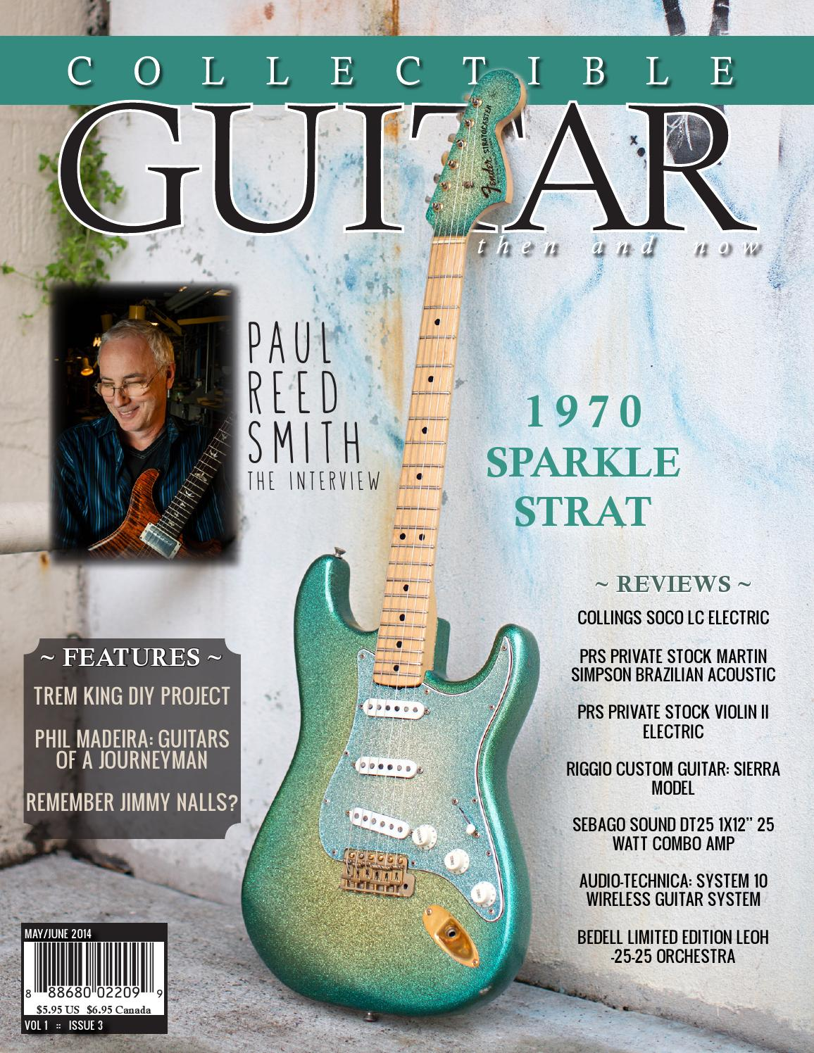 Collectible Guitar Then And Now Mayjun 2014 By Collectible