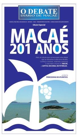 Aniversário Macaé 201 anos by O DEBATE Diario de Macae - issuu 142f9ebfbd